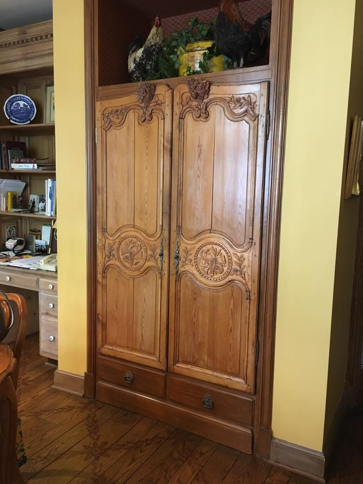 Home Decor Idea For Repurposed Armoire Doors Gargoyles